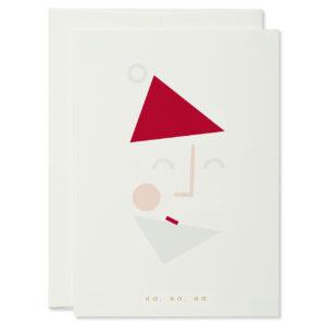 christmas card weihnachtskarte Santa Nikolaus